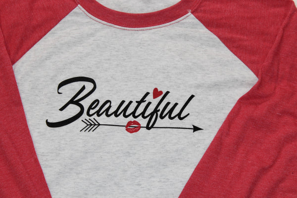 Beautiful Unisex Baseball Tee