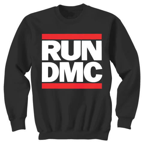 Run DMC Logo Crewneck Sweatshirt