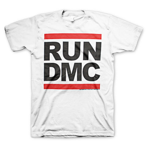 Run DMC Logo White T-Shirt