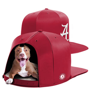 University of Alabama Nap Cap Dog Bed