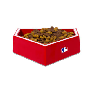 Los Angeles Angels Home Plate Dog Bowl