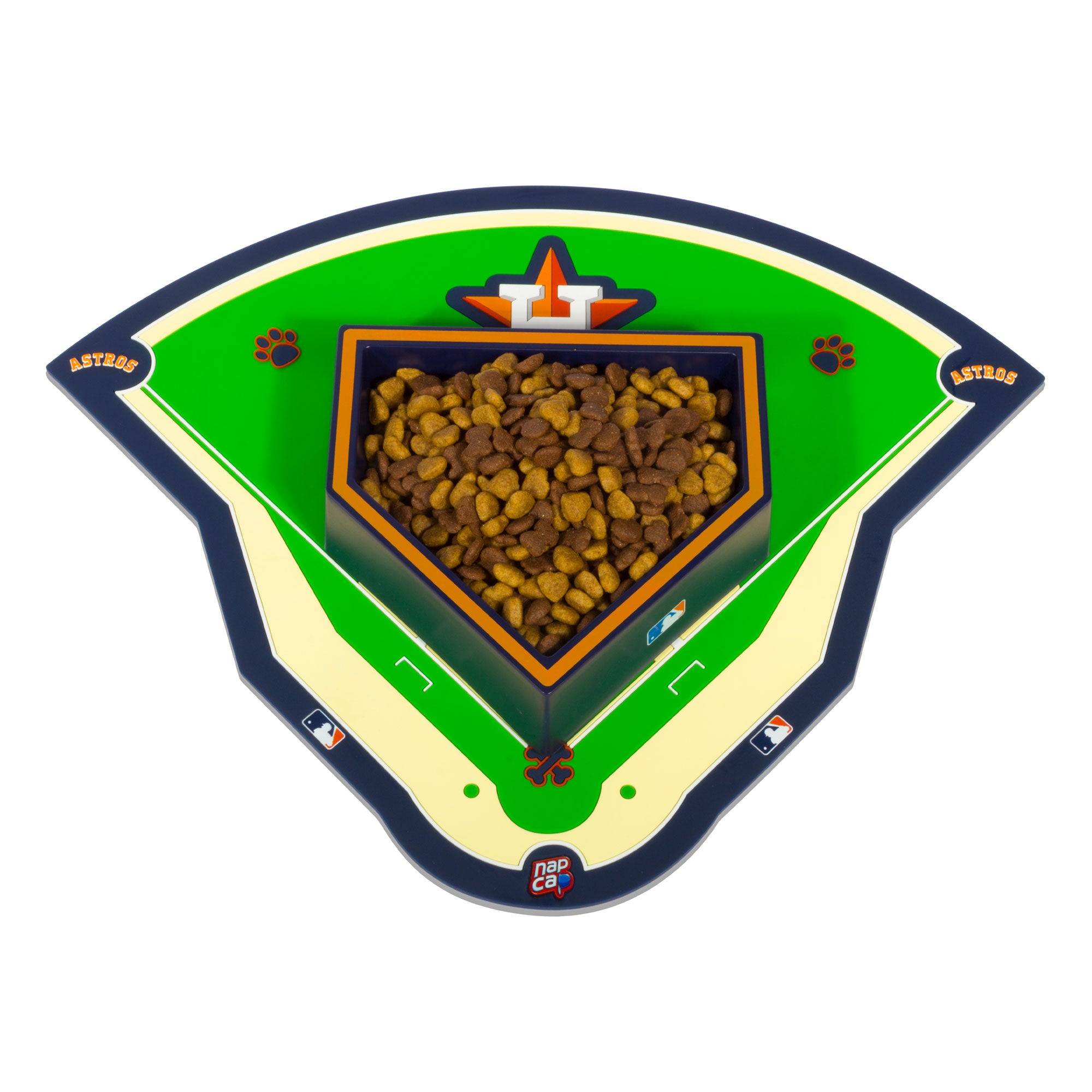 Houston Astros Pet Feeding Field Mat