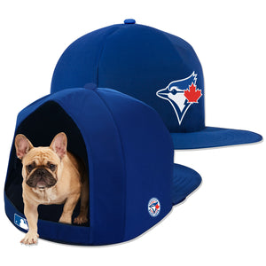 Toronto Blue Jays Nap Cap Plush Dog Bed