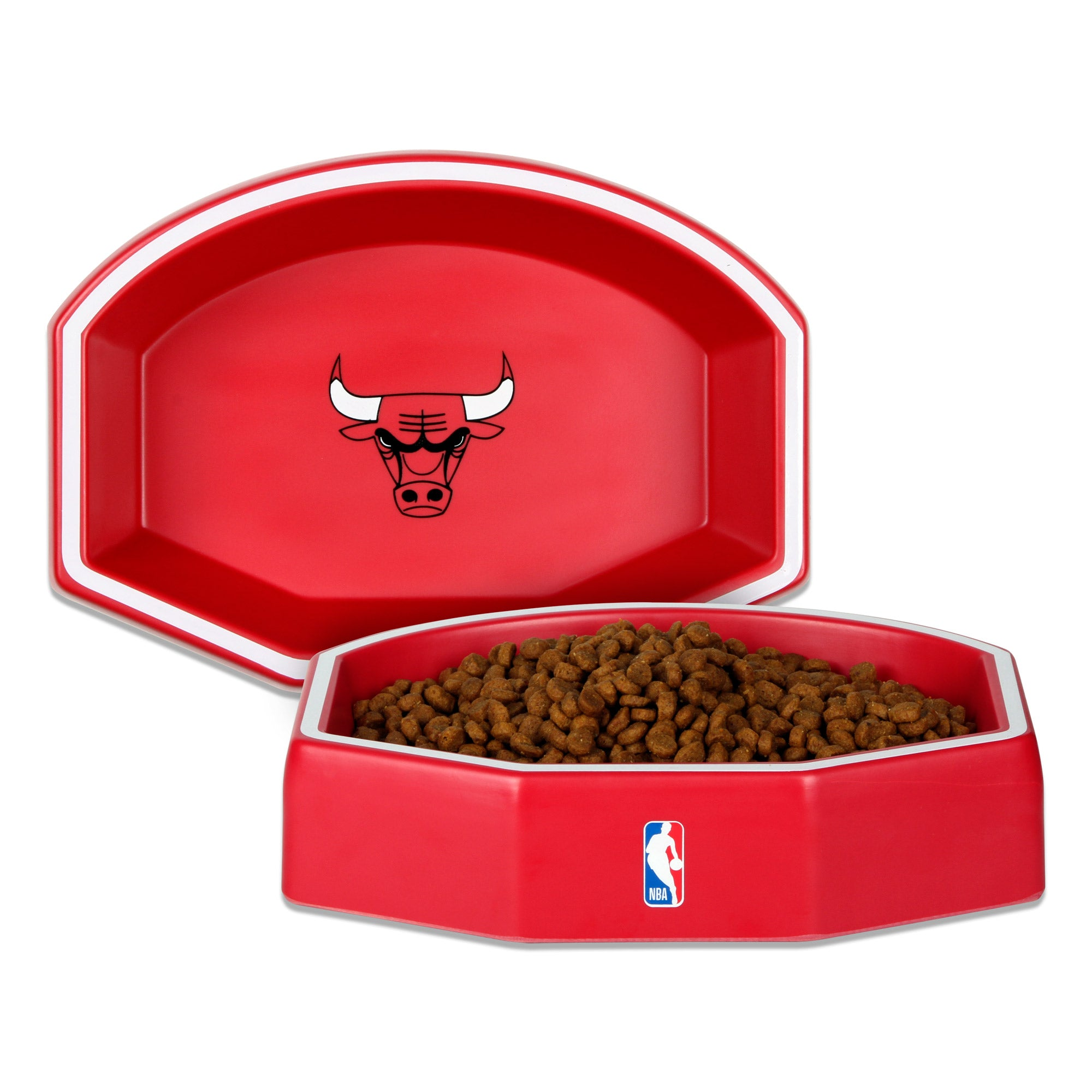 Chicago Bulls Backboard Dog Bowl