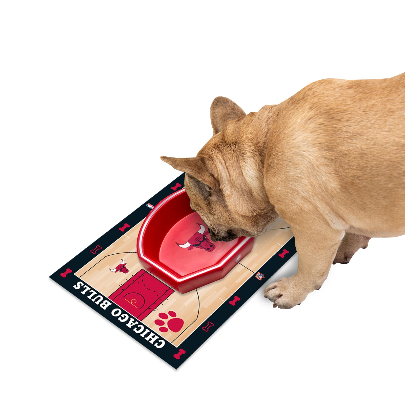 Chicago Bulls Food Court Mat - PVC