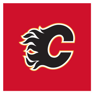Calgary Flames Nap Cap Dog Bed