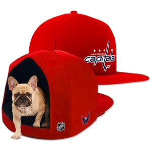 Washington Capitals Nap Cap Plush Dog Bed
