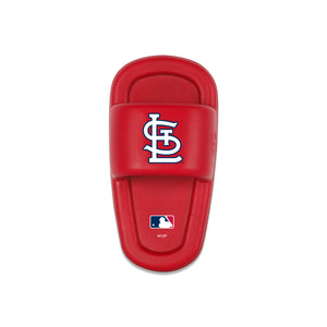 MLB CHEW TOY - CARDINALS - MUTT SLIDE- RED/WHITE