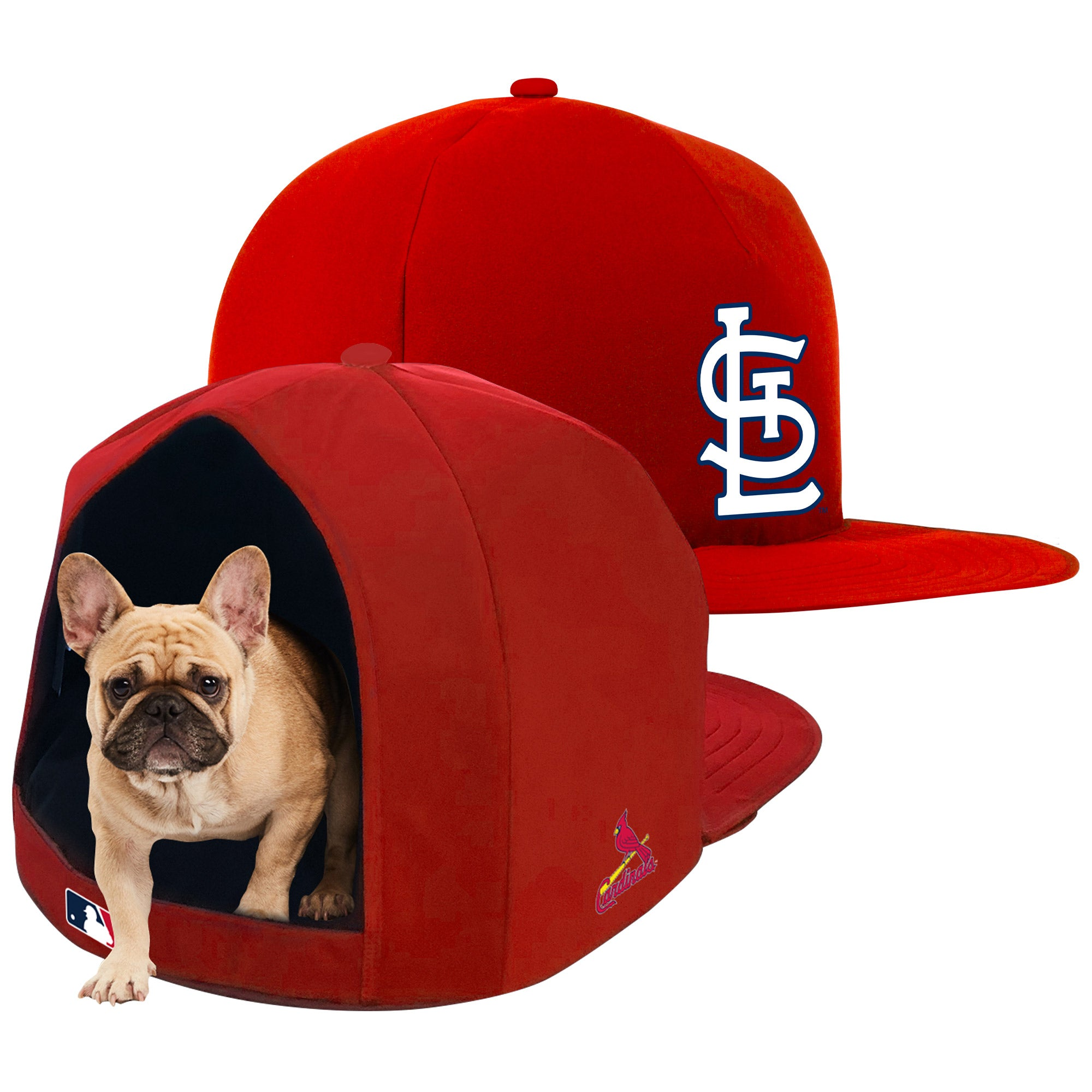 St. Louis Cardinals Nap Cap Plush Dog Bed