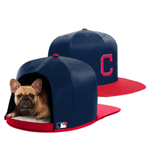 Cleveland Indians Nap Cap Dog Bed