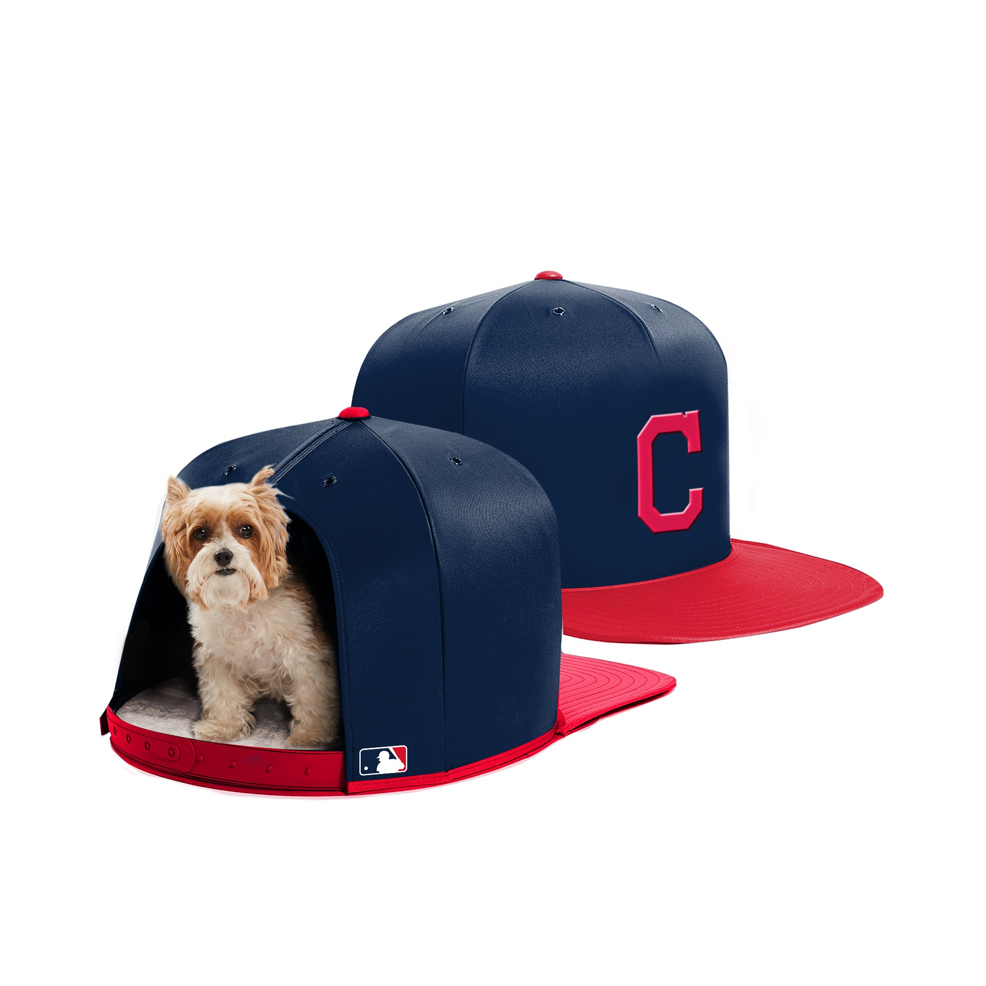 Nap Cap - Cleveland Indians - Pet Bed
