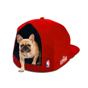 Los Angeles Clippers Nap Cap Plush Dog Bed