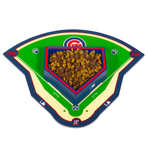 Chicago Cubs Field Pet Feeding Mat