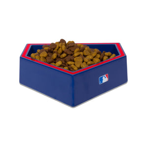 Chicago Cubs Home Plate Dog Bowl
