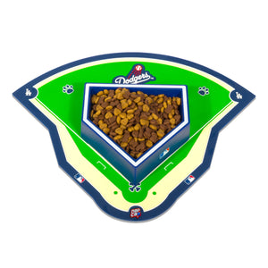 Los Angeles Dodgers Field Pet Feeding Mat