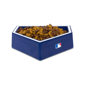 Los Angeles Dodgers Home Plate Dog Bowl