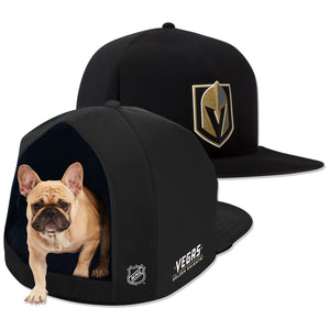 Vegas Golden Knights Plush Dog Bed