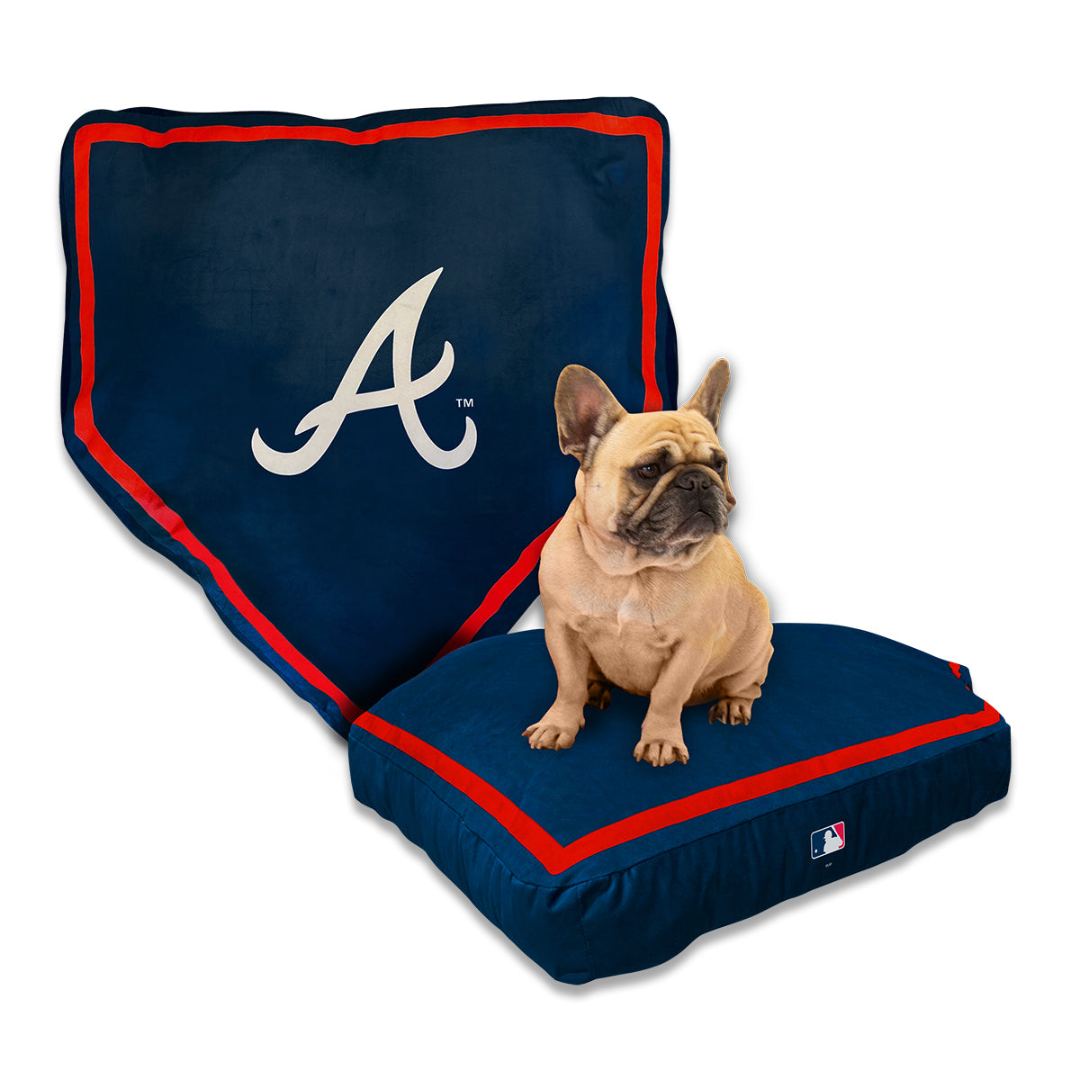 Atlanta Braves Home Plate Bed by Nap Cap