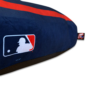 Boston Red Sox Nap Cap Home Plate Dog Bed