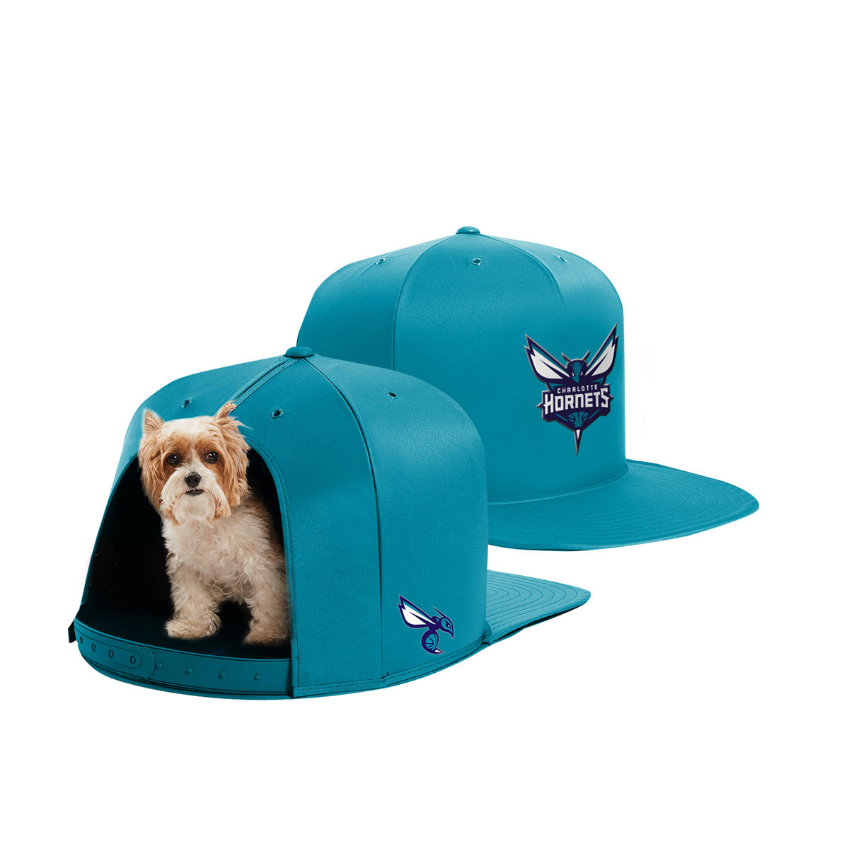 Nap Cap - Charlotte Hornets Pet Bed