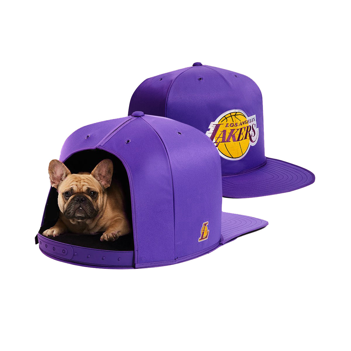 LA Lakers Nap Cap Dog Bed
