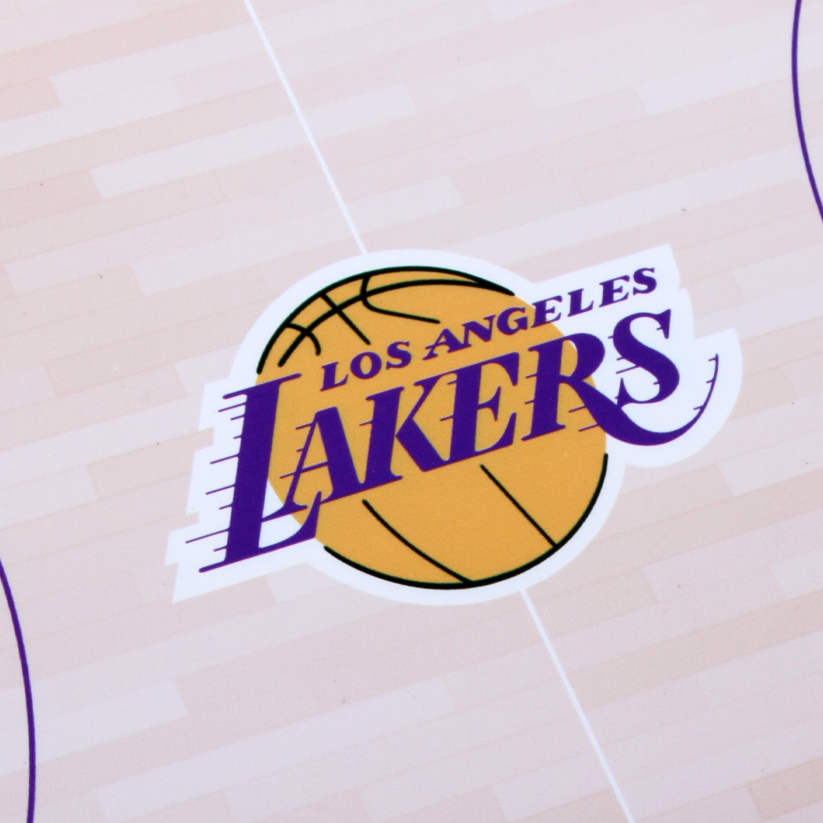 Los Angeles Lakers Food Court Mat - PVC