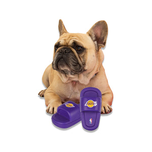 Los Angeles Lakers Mutt Slide Dog Chew Toy