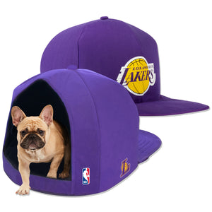 LA Lakers Nap Cap Plush Dog Bed