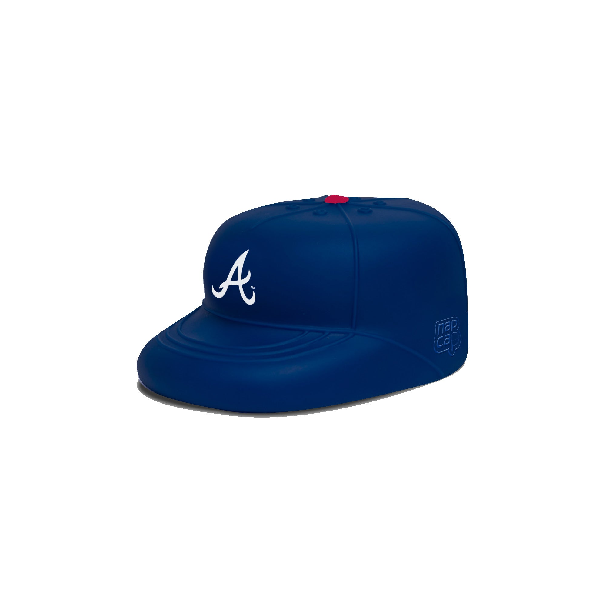 Atlanta Braves PlayCap Dog Chew Toy