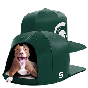 Michigan State University Nap Cap Dog Bed