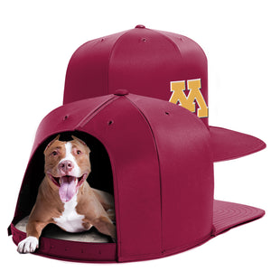 University of Minnesota Nap Cap Dog Bed