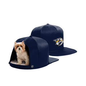 Nashville Predators Nap Cap Dog Bed