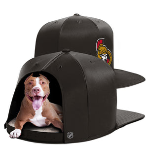 Ottawa Senators Nap Cap Dog Bed
