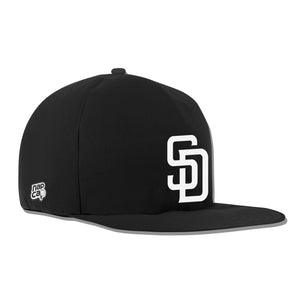San Diego Padres Noir Nap Cap Plush Dog Bed