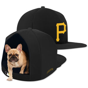 Pittsburgh Pirates Nap Cap Plush Dog Bed