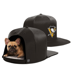 Pittsburgh Penguins Nap Cap Dog Bed