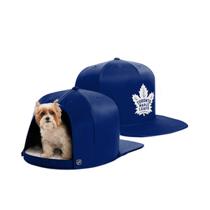 Toronto Maple Leafs Nap Cap Dog Bed