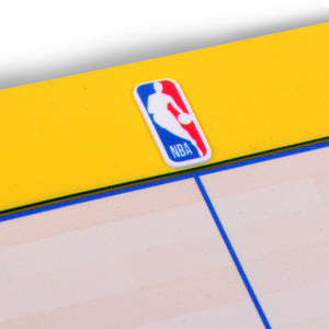 Golden State Warriors Food Court Mat - PVC
