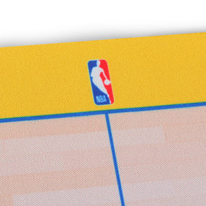 Golden State Warriors Food Court Mat - Coated Poly Twill