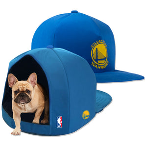 Golden State Warriors Nap Cap Plush Dog Bed