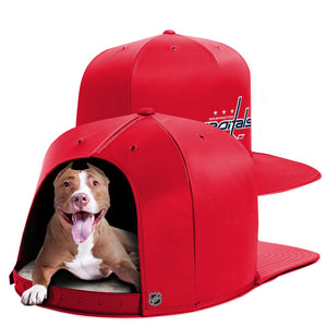 Washington Capitals Nap Cap Premium Dog Bed