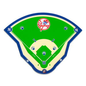 New York Yankees Field Pet Feeding Mat