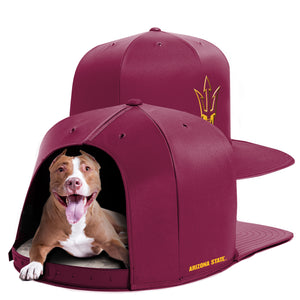 Arizona State University Nap Cap Dog Bed
