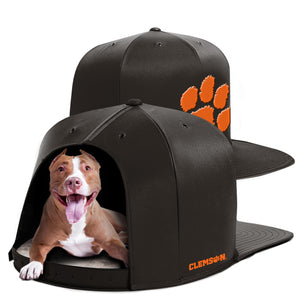 Clemson University Nap Cap Dog Bed