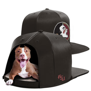 Florida State University Nap Cap Dog Bed