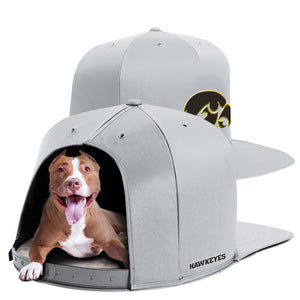 University of Iowa Nap Cap Dog Bed