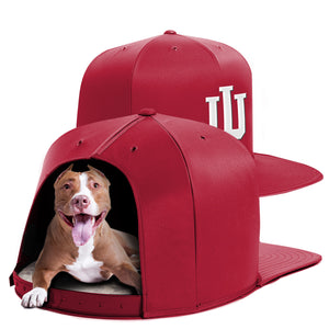 Indiana University Nap Cap Dog Bed