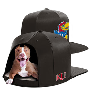University of Kansas Nap Cap Dog Bed