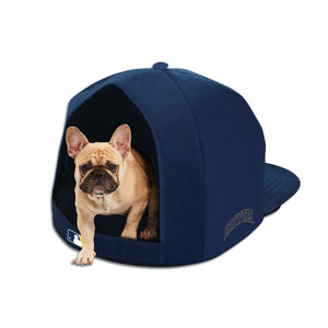 Milwaukee Brewers Nap Cap Plush Dog Bed