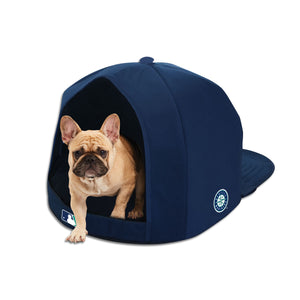 Seattle Mariners Nap Cap Plush Dog Bed
